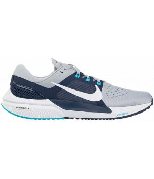 Кроссовки  Nike AIR Zoom Vomero 15 серые с синим
