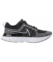 Кроссовки Nike Air Zoom React Infinity Run Flyknit 2 черные с серым
