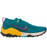 Кроссовки Nike Air Zoom Wildhorse 7 зеленые с желтым