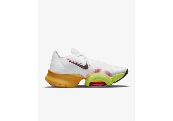 Кроссовки Nike Air Zoom SuperRep 2 X белые с желтым