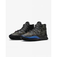 Кроссовки Nike Kyrie 7 черные с синим