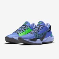 Кроссовки Nike AIR Zoom Freak 2 синие с черным