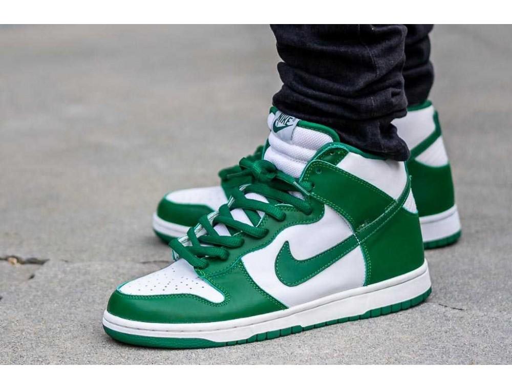 """Описание модели Nike Sb Dunk High """"Invert Celtics"""""""