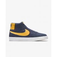Кроссовки Nike SB Zoom Blazer Mid синие