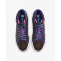 Кроссовки Nike SB Zoom Blazer Mid Premium коричневые
