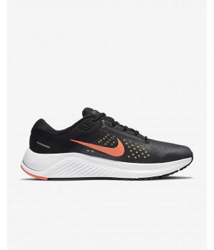 Кроссовки Nike Air Zoom Structure 23 черные с оранжевым