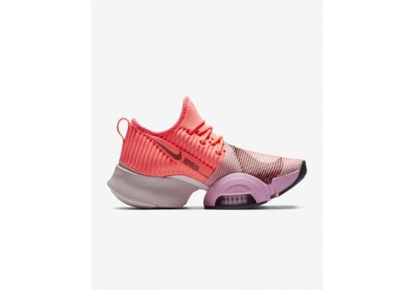 Кроссовки Nike Air Zoom SuperRep розовые с оранжевым