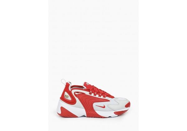 Кроссовки Nike Air Zoom 2k красные с белым