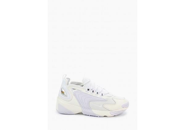 Кроссовки Nike Air Zoom 2k белые с сиреневым
