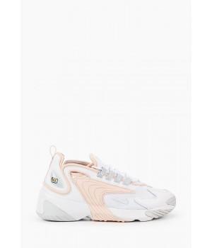 Кроссовки Nike Air Zoom 2k WMNS бело-персиковые