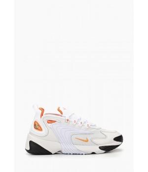 Кроссовки Nike Air Zoom 2k белые с оранжевым